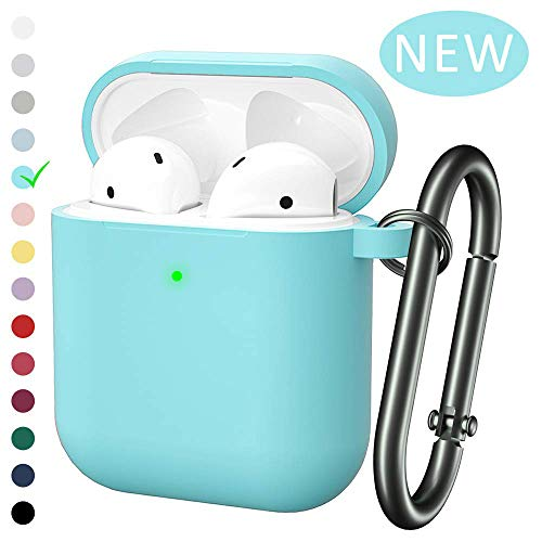 Marge Plus for Airpods Case Cover with Keychain, Silicone Skin Cover for Women Men Compatible with Apple Airpods 2/1…