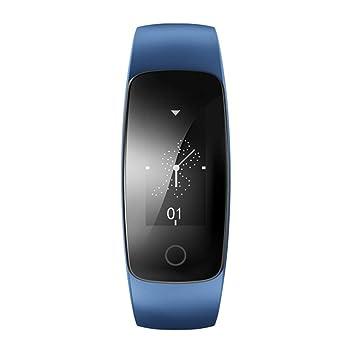 TRDCZ ID107 Plus HR Pulsera Inteligente Reloj Rastreador De Actividad Pulsómetro Reloj Ritmo Cardiaco GPS Smart Band Probador Deportivo,Blue: Amazon.es: ...