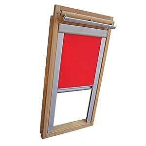 Easy de Shadow claraboya DKL–Estor comodidad térmica para Tipo Roto WDF 645/647K Tamaño 13/9–EN EL Color Rojo/Rojo