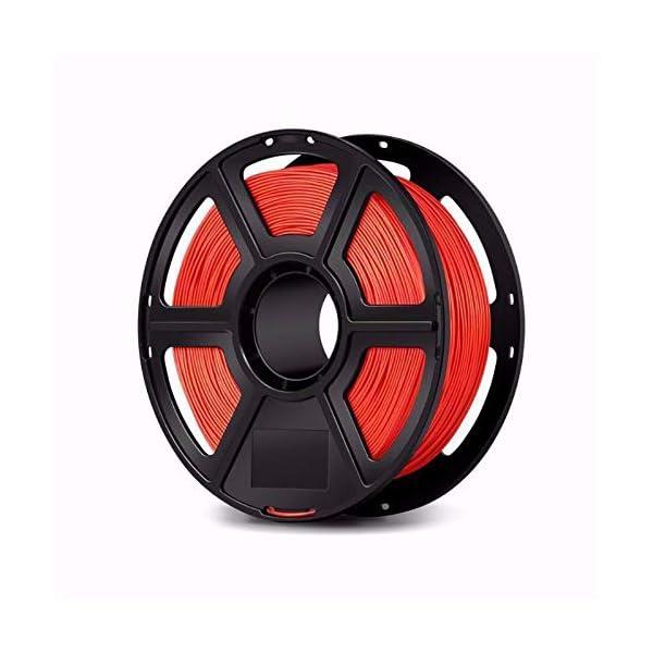 WOL 3D Flashforge PLA 3D Printer Filament - 1.75mm, Red