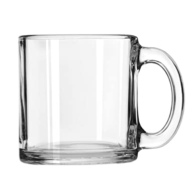 Libbey 13-Ounce Classic Coffee Mug in Clear, Box of 12