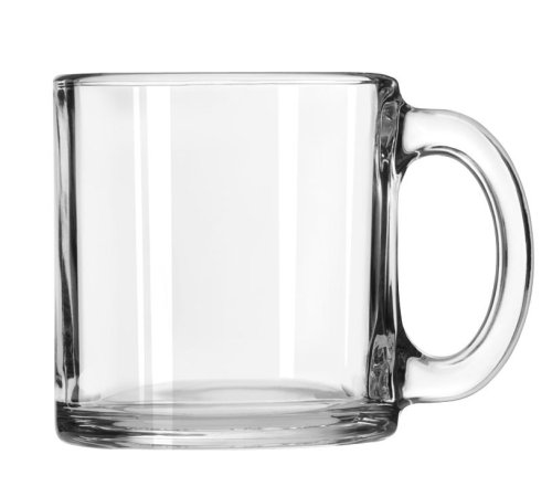 - Libbey Robusta Glass Mugs, Set of 12