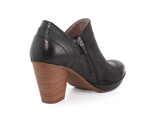 Dansko Burnished Boot Black Nubuck Marcia Women's rxqYwrS