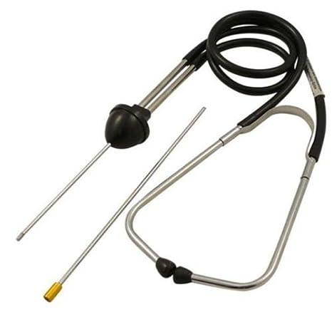 Automotive mecánico estetoscopio motor cilindro ruido probador Detector de diagnóstico: Amazon.es: Coche y moto