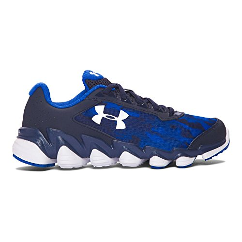 Midnight Blue Shoes (Under Armour Grade School UA Spine Disrupt Camo 7 Midnight Navy)