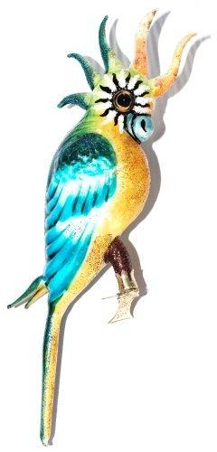 Amazon De Christbaumschmuck Vogel Clip Kakadu Papagei Glas