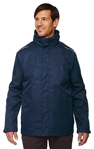 Ash City Core 365 Men's Tall Region 3-In-1 Fleece Liner Jacket, XLT, Classic Navy 849