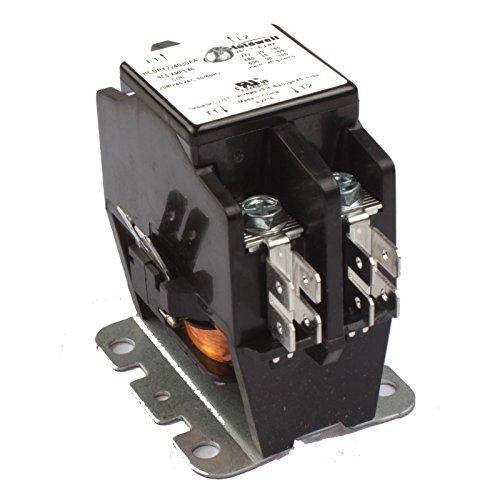 - Holdwell 45EG20AG 2 Pole 20 Amp 25 Amp 30 Amp 240V Coil Definite Purpose Contactor