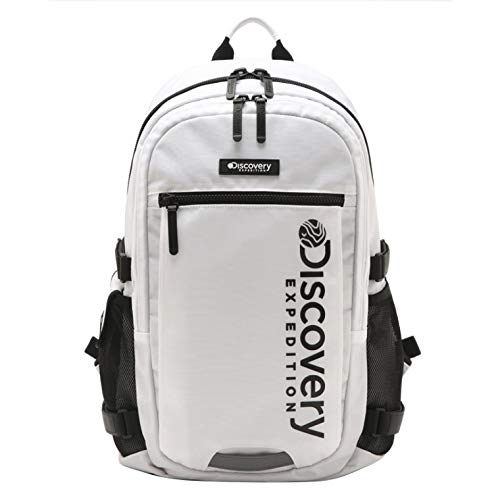 (ディスカバリー遠征) Discovery expedition [Public] LiKE backpack [公共]ライク(LiKE)バックパック (並行輸入品) One Size ホワイト B07NQ3MYSR