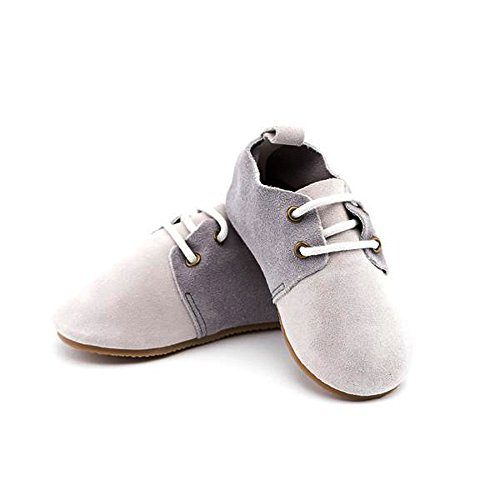 Piper Finn Genuine Leather Oxford Shoes - Baby Soft Sole + Toddler Hard Sole Hampton