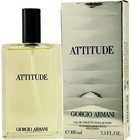 Giorgio Armani Attitude Eau De Toilette Refillable 100ml