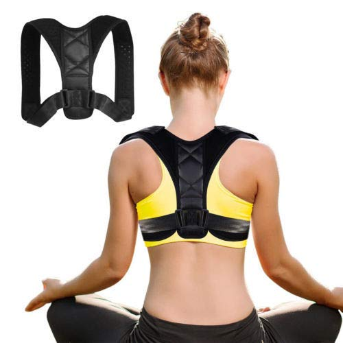 Posture Corrector for Women Men – Effective Comfortable Adjustable Posture Corrector – Back Brace