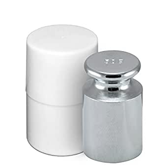 Smart Weigh CW-50G Carbon Steel 50g OIML Class M1: ± 3 mg Calibration Weight with Chrome Finish