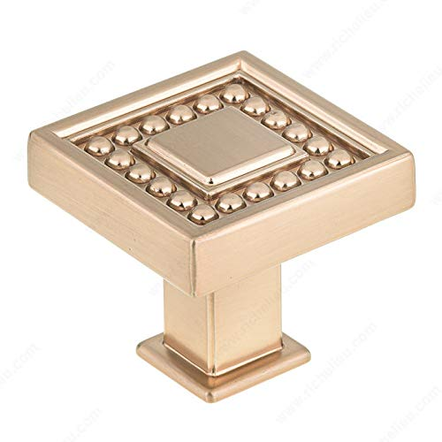 RICHELIEU HARDWARE - Transitional Metal KNOB - BP87953333CHBRZ (Champagne Bronze)