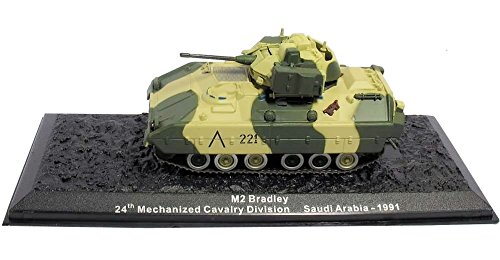 Deagostini 1:72 Diecast Model Tank - M2 Bradley. 24th Mechanized Cavalry Division. Saudi Arabia 1991 #40