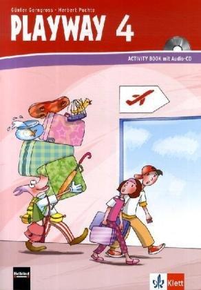 Playway to English - Neubearbeitung. ab Klasse 1 / Ausgabe Baden-Württemberg, Berlin, Brandenburg, Rheinland-Pfalz und Nordrhein-Westfalen: Activity Book mit Audio-CD 4