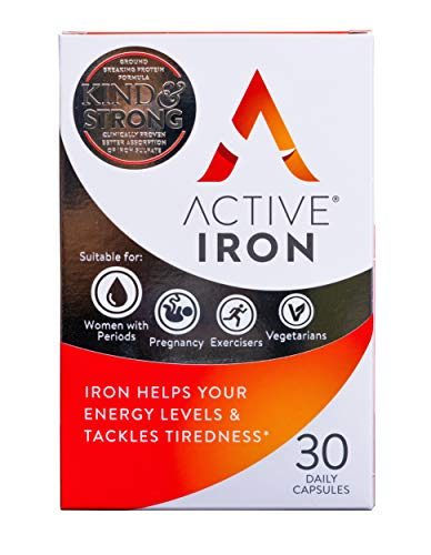 Active-Iron-Iron-Tablets-Non-Constipating-Ferrous-Sulfate-Iron-Helps-Strengthen-Your-Immune-System-1-Month-Supply