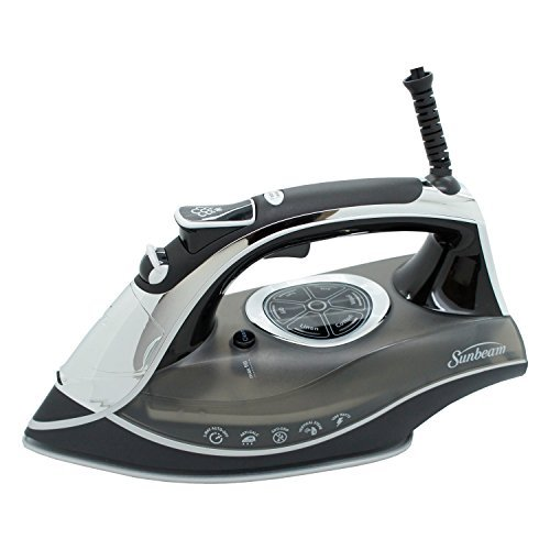 Sunbeam AERO Ceramic Soleplate Iron with Dimpling and Channeling Technology, 1600W (Grey) by Sunbeam