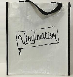 Disney Parks Authentic Vinylmation White Reusable Tote - Disneyworld Shopping