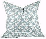 alerie Sassoon Surf Pillowcase Cover Premier Prints Waikiki Spa Blue Blue Pillowcase Cover for Living Room Decor Cushion Cover