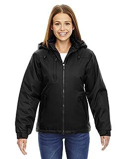 North End Ladies Hi-Loft Insulated Water Resistant Coat Jacket Black Medium,Black,Medium (B00AM436LO) | Amazon price tracker / tracking, Amazon price history charts, Amazon price watches, Amazon price drop alerts