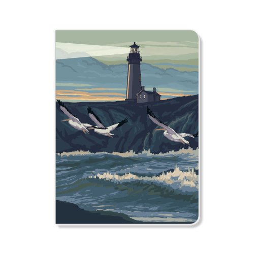ECOeverywhere Yaquina Light Sketchbook, 160 Pages, 5.625 x 7.625 Inches (sk11984) by ECOeverywhere