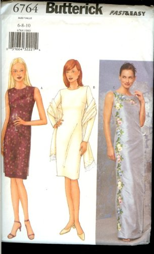 Butterick Very Easy Formal Dress Pattern # 6764