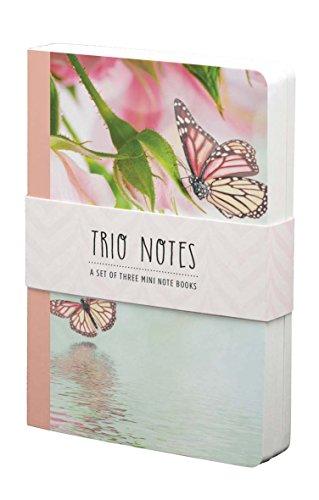 Trio Art Butterfly (For Arts Sake -Butterflies- Set of 3 Mini Notebooks- trio-blfy)