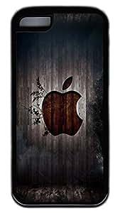 iPhone 5C Case,Customize Ultra Slim Apple 344 Soft Rubber TPU Black Case Bumper Cover for iPhone 5C