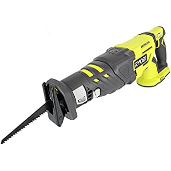 Ryobi p516 18v cordless one variable speed reciprocating saw w 2 ryobi p517 18v lithium ion cordless brushless 2900 spm reciprocating saw w anti vibration handle and tool less blade changing battery not included greentooth Image collections