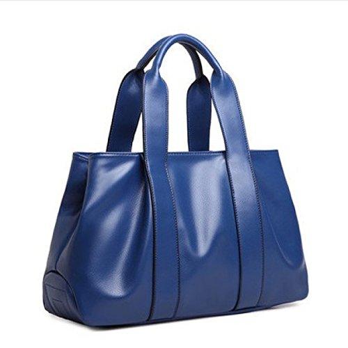 Pour Vintage à à Womens Multicolor Main Pu Blue Sacs Sac Bandoulière Lady Cuir En Bandoulière Sac à UxwwPOqdt