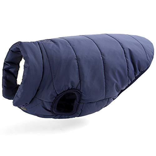 Berber Dog Coat - Korx Dog Coat Padded Berber Fleece Dogs Vest Jacket Cold Weather Warm Pet Clothes for Small Medium Large Dogs