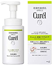 Curel Sebum Trouble Care Foaming Wash, 150ml