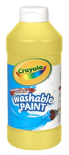Crayola Washable Paint 16oz Yellow
