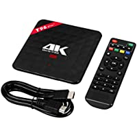 TV Box, UPLOTER 4K HD WI-FI 3G+32GB Octa-Core Android 6.0 MINI PC Smart TV Box