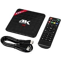 TV Box, UPLOTER 4K HD WI-FI 3G+32GB Octa-Core Android 6.0 MINI PC Smart TV Box
