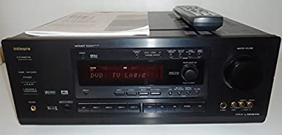 Onkyo Integra DTR-6 WRAT Wide Range Amplifier Technology AV Audio Video Stereo / Home Theatre Receiver Complete with Remote, AV Cables and Original Physical Instruction Manual