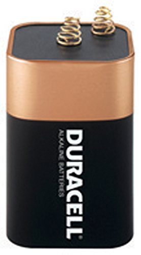 Duracell MN908 6V Non-Rechargeable Alkaline Lantern Batteries (1 Pack) (Carbon Duty Heavy Super)
