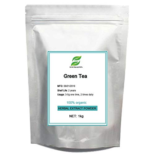 Ochoos 1kg GMP Certified Green Tea Extract Tea polyphenols with EGCG for Pills for Metabolism Boost and Heart Health