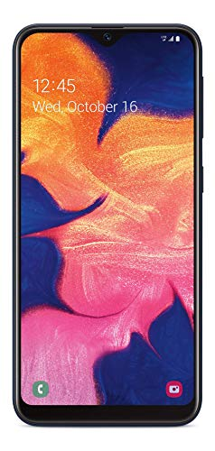 Tracfone Samsung Galaxy A10e 4G LTE Prepaid Smartphone (Locked) – Black – 32GB – SIM Card Included – CDMA