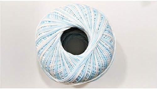 Lisle la sombra de crochet de algodón número 5 de la bola de hilo ...