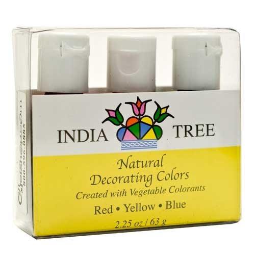 Natural Color Decorating Set (3 bottles per set) - 6 pack by ChefShop