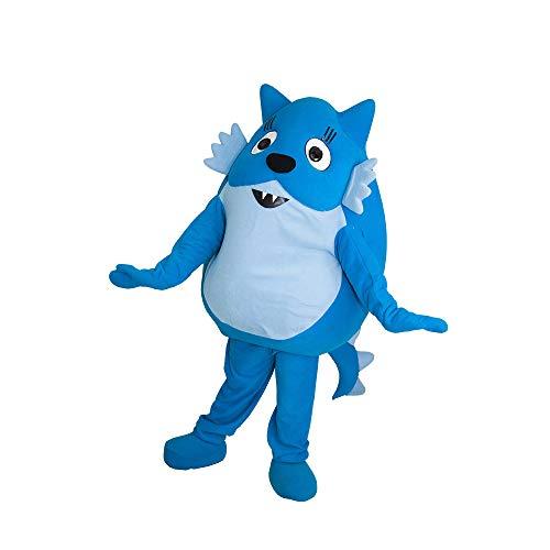 Toodee Blue Cat Yo Gabba Gabba Mascot Costume Character Cosplay Party Birthday Halloween ()