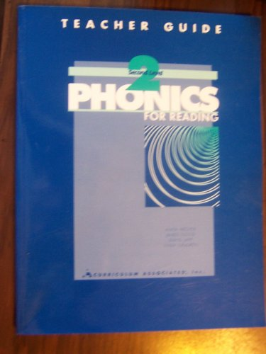 Phonics for Reading, Second Level, Teacher Guide