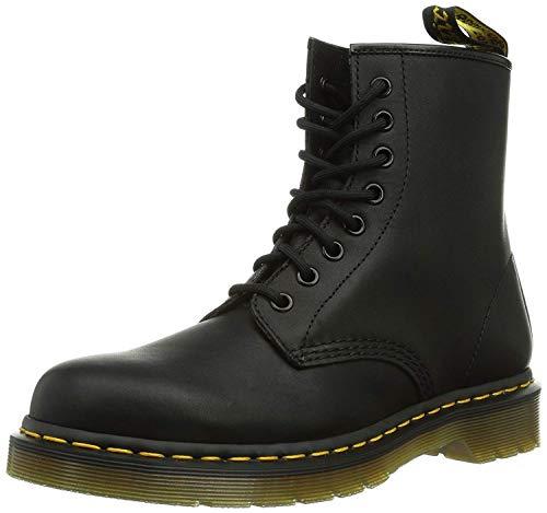 - Dr. Marten's Women's 1460 8-Eye Patent Leather Boots, Black Greasy Leather, 11 F(M) UK / 13 B(M) US Women / 12 D(M) US Men