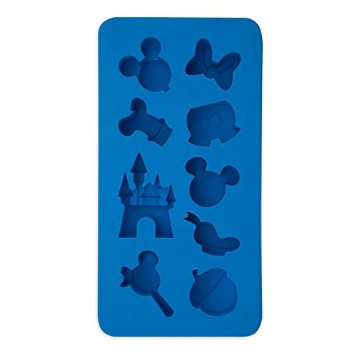Disney Parks Mickey Mouse Character Castle Silicone Ice Cube Tray Mold by Disney