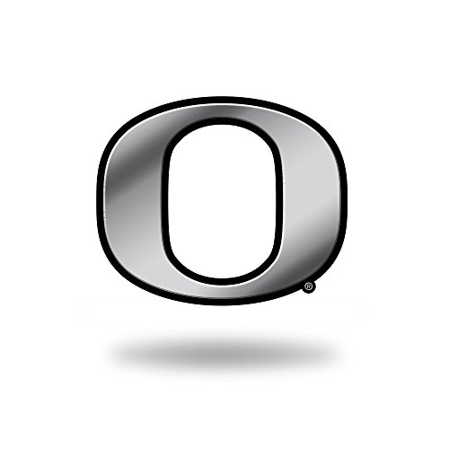Rico Industries NCAA Oregon Ducks Chrome Finished Auto Emblem 3D Sticker ()