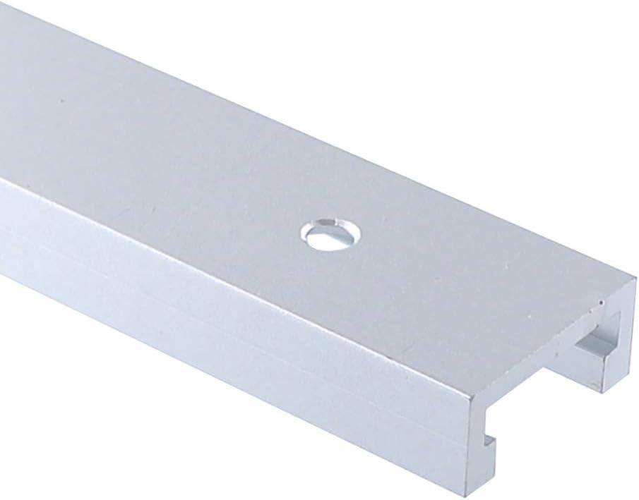 gu/ía de inglete de aleaci/ón de aluminio T Track Miter Track Jig Fixture ranura para sierra de mesa Router mesa herramienta de carpinter/ía Laecabv 30 Tipo 600 mm T-Track Miter Track