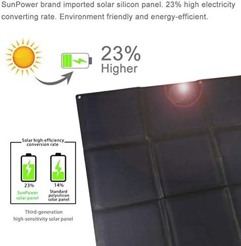 21Wソーラー充電袋、USBポート 太陽光発電モジュール、屋外の緊急ソーラー充電、家族旅行(1個)
