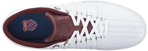 K-Swiss Men's Classic 88 Sneaker White/Rum Raisin sale best seller cheap sale sneakernews free shipping best seller AdCdip